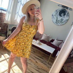 VINTAGE The Limited Floral Sun Dress RARE